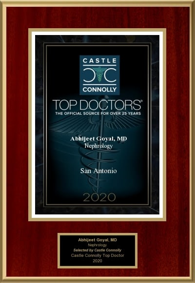 Top Doctor Award - Dr. Goyal