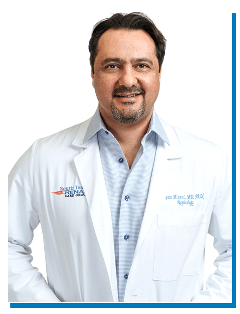 Dr. M. Reza Mizani of South Texas Renal Care Group